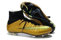 Mercurial Superfly FG - Hyper Punch/Gold/Black Soccer Cleat