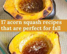Packed with essential nutrients, acorn squash recipes are a great go-to during the fall. Not only are acorn squash recipes beyond delicious, they can also help reduce your risk of diabetes, cancer and heart disease. Check out these must-make acorn. Acorn Squash Recipes Healthy, Recipe For Roasted Acorn Squash, Fall Recipes, Great Recipes, Snack Recipes, Cooking Recipes, Cajun Cooking, Yummy Recipes, Healthy Recipes
