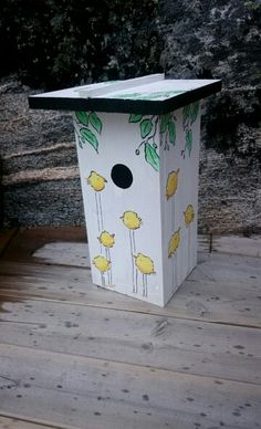 Easter house  painted by MB