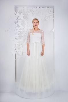 #brautkleid La Robe Marie Brautmode 2017 | Hochzeitsblog The Little Wedding Corner