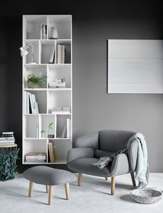 An interior design service tailored to you. BoConcept is a Danish furniture store that turns houses into modern homes. Browse our designer furniture. Boconcept, Sofa Design, Furniture Design, Interior Design, Corner Bookshelves, Glider And Ottoman, Danish Furniture, Home Libraries, Reading Nook