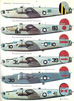 B-24 Liberator - Different Moods!