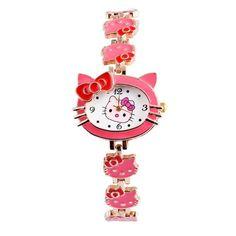 Hello Kitty Wrist Watch Kids Watches Cute Children's Watches Girl Cartoon Bracelet Watch Baby Clock saat relogio reloj montre