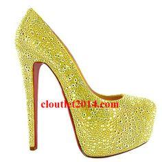 bb6eacb858a Discount Christian Louboutin Daffodile 160mm Aurora Boreale Pump Red High  Heels