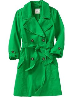 Women's Tab-Sleeve Trench Coats Product Image