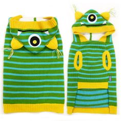 One-Eyed Monster Dog Sweater | Pet Dog Costumes at Neiman Barkus Couture ~ Ships for Free!