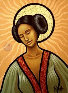 Somehow I've Always Known, Holy Mother/Princess Leia http://society6.com/aaronpaquette/Somehow-Ive-Always-Known_Print