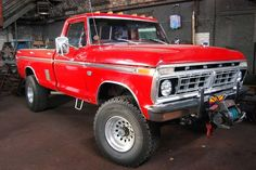 """Ford Pickup Truck """"Highboy"""" The Highboy is one of the toughest-looking Ford trucks of all time. 1979 Ford Truck, Ford Pickup Trucks, Lifted Trucks, Chevy Trucks, Ford 4x4, 4x4 Trucks, Custom Trucks, Pickup Camper, Lifted Chevy"""