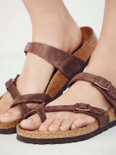 5ec501a3b09 Birkenstock Mayari Birkenstock at Free People Clothing Boutique Pretty  Shoes