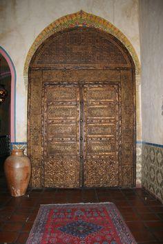 Interior door - Hotel Figueroa, Los Angeles, Calif.