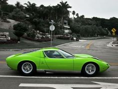My dream car....Lamborghini Miura