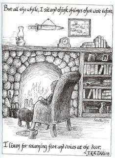 Bilbo's Reverie print