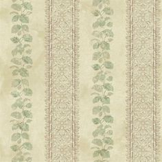 Ornamental Leaf Trellis Stripe