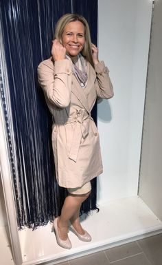 Trench coat In Wear