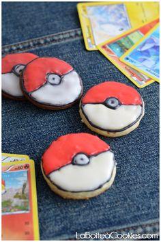 Sablés Pokémon - LaBoiteaCookies.com