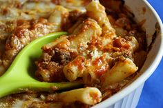 Easy Baked Ziti - Jenny Can Cook