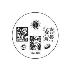 Nail Plate - Bundle Monster 308