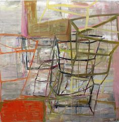 Deborah Dancy, Point Counter Point, Oil on canvas, 60 x 60 inches. Image courtesy of Sears Peyton Gallery Painter Artist, Artist Painting, Art Paintings, Abstract Painters, Abstract Art, The Drawing Center, Expressionist Artists, Art Friend, A Level Art