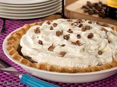 Dreamy Mocha Cream Pie   mrfood.com