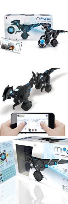 Remote-Controlled Toys 84912: New Miposaur Interactive Dinosaur And Track Ball Pet Robot Wowee -> BUY IT NOW ONLY: $62.99 on eBay!