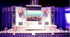 How beautiful is this reception setup | #decor #indian #shaadi #wedding #reception #southasian #shaadibelles | courtesy of Aaron Eye Photography for more inspiration visit www.shaadibelles.com