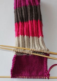 Hvordan strikke sokker / ull labber – Boerboelheidi Knitting Socks, Knitted Hats, Leg Warmers, Drops Design, Knit Crochet, How To Make, Accessories, Clothes, Jumper