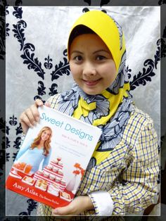 Maria from Malaysia has joined the #SweetDesigns virtual book club!