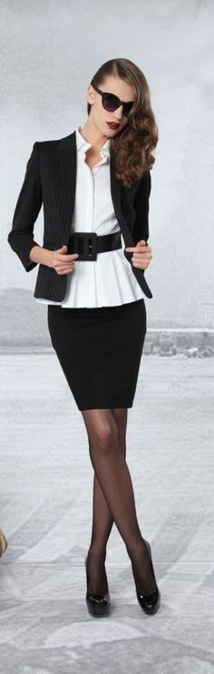 21 Trajes para el Otoño con estilo para el Trabajo - Lindos Outfits - Moda