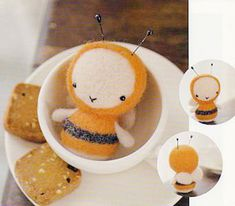 discover wool felt,dolls by Layla