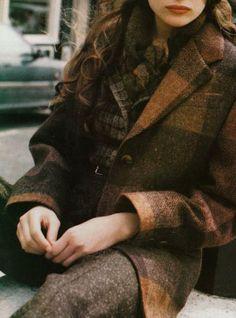 ♔ Tweed