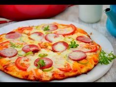 Tencerede 10 Dakikada Enfes Pizza Tarifi ( Şahane Pizza Hamuru ile) - YouTube