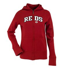 Cincinnati Reds Women's Applique Signature Hood by Antigua - MLB.com Shop