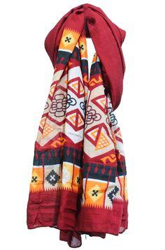 foulard estampado etnico www.patuspies.es