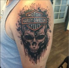 Harley-Davidson owners tend to love their bike with unmatched devotion, these Harley-Davidson tattoos prove that to a T. See the gallery here!