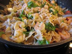 Shrimp, Chorizo & Chicken Pasta - Recipes4EveryKitchen