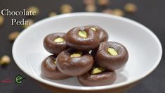 Quick Chocolate Peda Recipe Only With 3 Ingredients   Chocolate Mawa Ped...