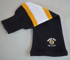 Warm toque shaped as a hockey sock!