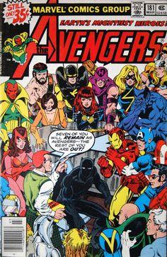 Avengers #181.