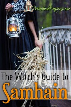 The Witch's Guide to Samhain Penniless Pagan: The Witch Leitfaden für Samhain Samhain Ritual, Wiccan Rituals, Wicca Witchcraft, Wiccan Sabbats, Halloween Tags, Samhain Halloween, The Witcher, Samhain Traditions, Hedge Witch