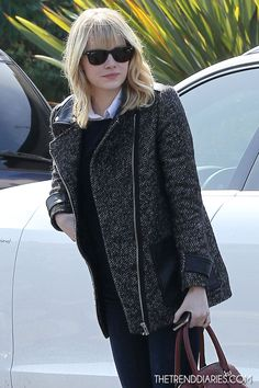 Emma Stone out in Los Angeles, California - November 2, 2012 | The Trend Diaries - The Latest Celebrity Style, Fashion, and Beauty Trends