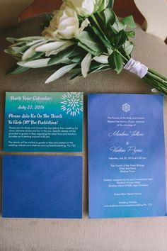 Destination wedding invitations   Luxury wedding in Skiathos