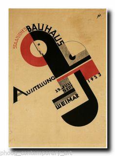RETRO ART DECO poster print in 3 size options (REF#140 ) Bauhaus modernist
