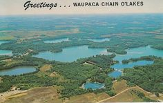 Chain O' Lakes, Waupaca, WI    There really is no place like home.