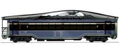 Timber Train Car