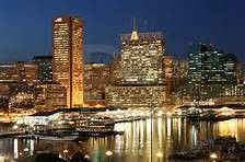 Baltimore at night. Can I move here now?