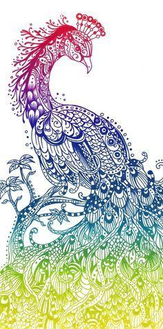 phoenix peacock - Google Search
