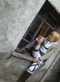 Ataque animado en Titan Cosplay botas Bota Shingeki no