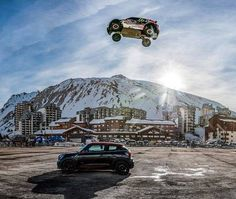 Look away now....Fierce Crash Ends World's Longest Car Jump Attempt! Hit the pic for the video