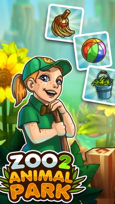 Zoo 2, Spiritual Inspiration Quotes, Farm Games, Zoo Keeper, Android, Park, Cute Animals, Gaming, Adventure
