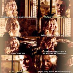 "#TVD 6x19 ""Because"" - Caroline and Stefan"
